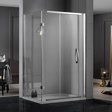 1400 Shower Door Aquadart Inline Sliding 2 Sided Shower Door 1400 X 800 Aq1128 Aq1128