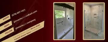 frameless shower doors enclosures alpharetta ga glass co