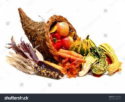 thanksgiving harvest cornucopia stock photo 62789890