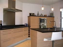 cuisine bois design indogate com cuisine blanc chene