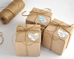 wedding favor boxes 100 wedding favor boxes brown kraft favours 2x2 box gift