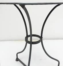 Zinc Bistro Table Zinc Topped Café Table At 1stdibs