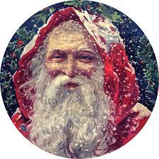 vintage christmas classic victorian santa graphics fairy