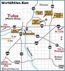 map of tulsa die besten 25 tulsa map ideen auf