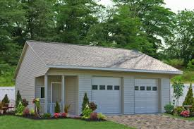 saltbox style prefab 3 car garage see prices