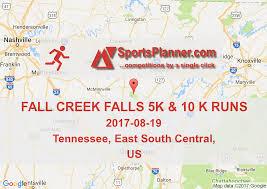Fall Creek Falls Map Fall Creek Falls 5k U0026 10 K Runs Running In East South Central