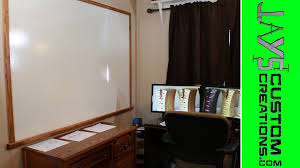huge home made dry erase board for 20 114 youtube