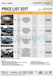 lexus price list chevrolet price list in singapore oneshift