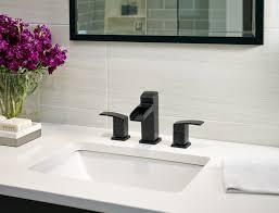 black faucets bathroom contemporary bathroom decoration using double handle black