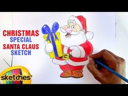sketch of santa claus christmas special mango sketches youtube