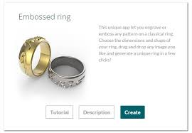Design Your Own Wedding Ring by Make Your Own Ring Online 3d Printing Blog I Materialise
