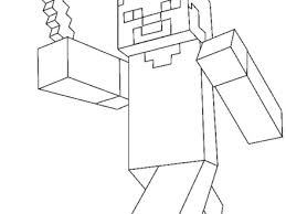 minecraft herobrine coloring coloring pages minecraft