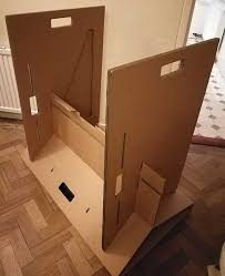 How To Make A Cardboard Desk A Cardboard Desk I Won U0027t Stand For It Actually I Will U2022 The