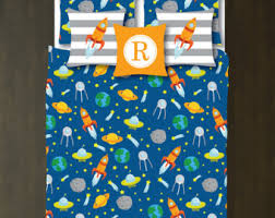 Space Bedding Twin Solar System Bedding Etsy