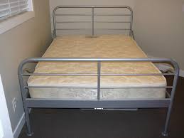 Ikea Buy Or Sell A Ikea Silver Metal Frame Bed Beyond Car Forums Community Lenti On