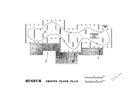museum of mohenjo daro ground floor circulation plan archnet