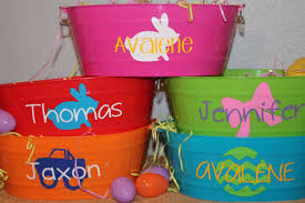 personalized easter basket liner the personalized easter basket you fill oval pertaining to