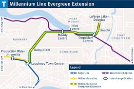 vancouver skytrain map how will the evergreen line affect the skytrain map vancouver