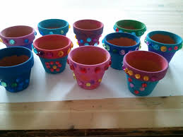 pot decoration ideas for kids 49 awesome exterior with home kids