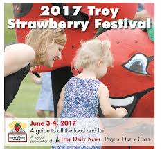 strawberry festival 2017 troy daily news