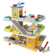 melissa and doug service station garage wooden toys pinterest