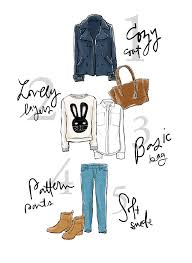 sketchbook closet cute and cozy fashion illustrations