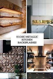 metal kitchen backsplash ideas amazing metal kitchen backsplash ideas 29 traditional images home