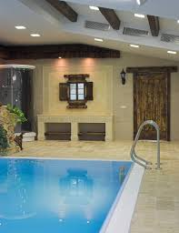 45 screened in covered and indoor pool designs partial view of