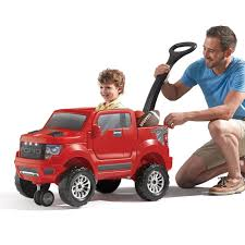 Ford Raptor Truck Parts - 2 in 1 ford f 150 svt raptor red kids ride on step2