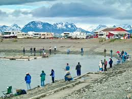 Alaska Road Map by Alaska Fishing Spots 500 Best Alaska Highway Fishing Locations
