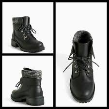 womens combat boots size 11 wide wide c d w boots torrid size 11 for ebay