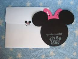 creative trendz design minnie mouse birthday invitation