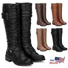 womens boots ebay canada womens black combat boots ebay