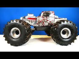 rc adventures dual motor swap on the beast 4x4 mega mud pickup truck