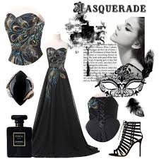 masquerade dresses and masks masquerade polyvore