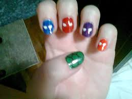 teenage nail art simple nail design ideas 27705 heroes in a half