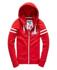 superdry t shirts polo womens superdry track and field zip hoodie