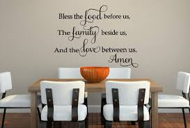 bless the food wall decal for the kitchen wall decals by wall decal for the kitchen bless the food
