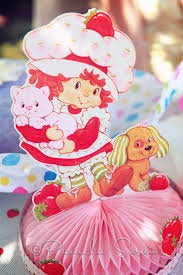 strawberry shortcake party supplies susan party two a vintage strawberry shortcake birthday for 2