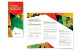 three fold brochure 30 creative examples of tri fold brochure