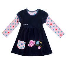 novatx f7139 kids clothing cartoon dresses selling kids winter