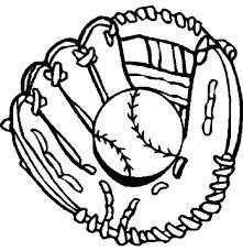 glove baseball coloring download u0026 print