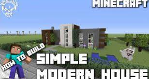Simplemodern Minecraft House Design U2013 All Your House Building Ideas And Designs