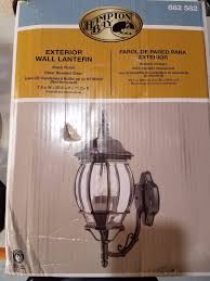Hampton Bay Exterior Wall Lantern by Hampton Bay Exterior Wall Lantern Black Finish 882 582 What U0027s It