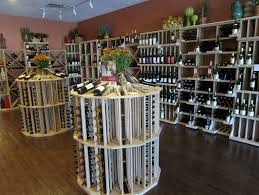 eye catching commercial wine cellar racks for a retail store in