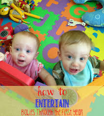 how to entertain babies through the first year