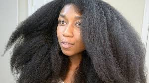 pictures of a black blowout hairstyle is getting a blowout bad for your naturally curly hair