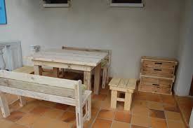 table de cuisine en palette meubles en bois de palette meubles en bois de palettes