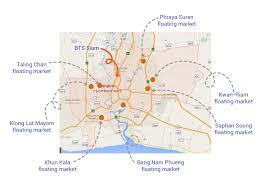 Bangkok Map 5 Reasons Why We Love Floating Markets U2013 Takemetour U0027s Blog
