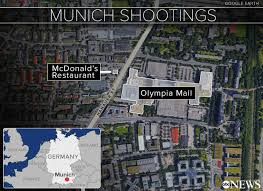 Munich Germany Map by German Born Gunman In Munich Attack That Killed 9 Had No Isis Ties